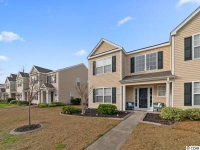Myrtle Beach Condo/Townhouse For Sale: 1167 Harvester Circle #1167