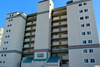 North Myrtle Beach Condo/Townhouse For Sale: 2507 S Ocean Blvd.
