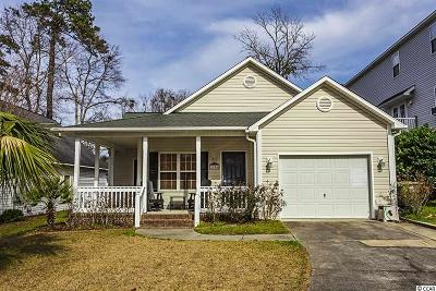 North Myrtle Beach Single Family Home Active Under Contract: 1704 26th Ave. N