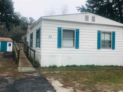Murrells Inlet Single Family Home For Sale: 21 Bluewater Ln.