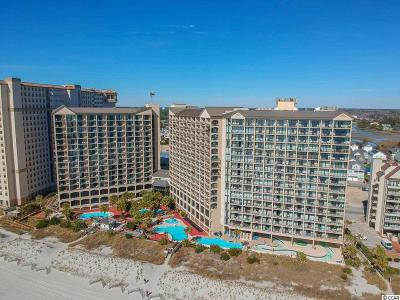 North Myrtle Beach Condo/Townhouse For Sale: 4800 S S Ocean Blvd. #816