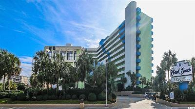 Myrtle Beach Condo/Townhouse For Sale: 1105 S Ocean Blvd. #640