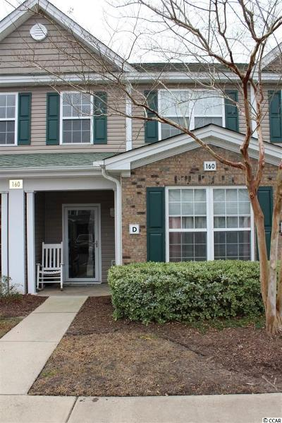 Murrells Inlet Condo/Townhouse For Sale: 160 Chenoa Dr. #D
