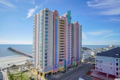 North Myrtle Beach Condo/Townhouse For Sale: 3500 N Ocean Blvd. #401