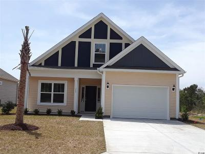 Murrells Inlet, Garden City Beach Single Family Home Active Under Contract: 217 Heron Lake Ct.