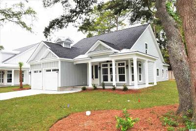 Murrells Inlet Single Family Home For Sale: Lot 3 Jay St.