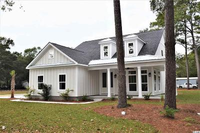Murrells Inlet Single Family Home For Sale: Lot 1 Jay St.