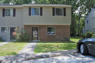 Pawleys Island Condo/Townhouse For Sale: 178 Beaver Pond Loop #D