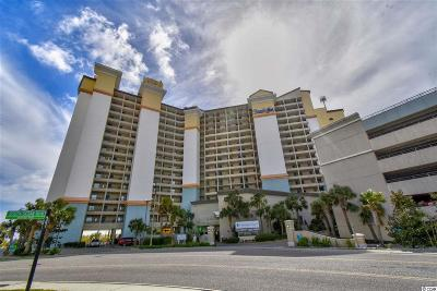 North Myrtle Beach Condo/Townhouse For Sale: 4800 S Ocean Blvd. #711