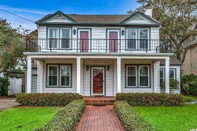 Myrtle Beach Single Family Home For Sale: 6211 N Ocean Blvd.