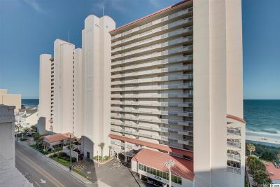 North Myrtle Beach Condo/Townhouse For Sale: 1625 S Ocean Blvd. #1507