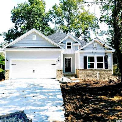 Surfside Beach Single Family Home For Sale: Lot 7 Pine Dr.