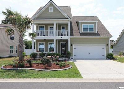 Surfside Beach Single Family Home Active Under Contract: 261 Coral Beach Circle