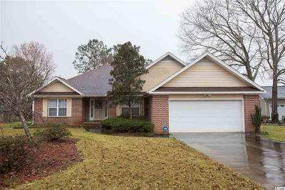 Myrtle Beach Single Family Home For Sale: 619 Blackstone Dr.