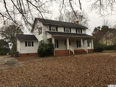 Bennettsville Single Family Home For Sale: 100 Springdale Dr.