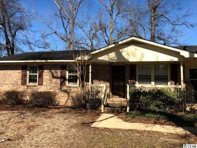 Conway Single Family Home For Sale: 1608 Sherwood Dr.