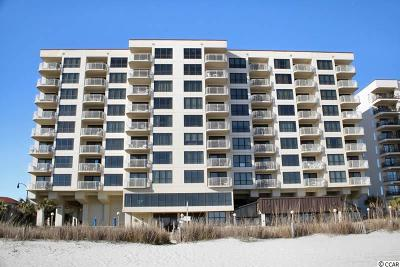 North Myrtle Beach Condo/Townhouse For Sale: 523 S Ocean Blvd. #602