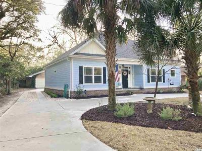 Surfside Beach Single Family Home Active Under Contract: 515 N 12th Ave.