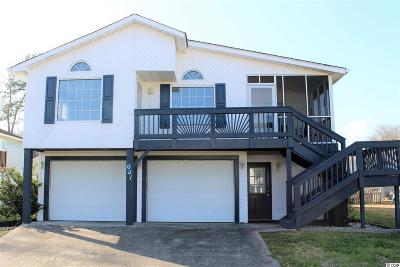 Garden City Beach Single Family Home Active Under Contract: 837 Starboard Ct.