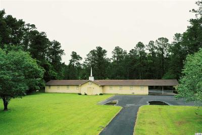 Whiteville Commercial For Sale: 386 Thompson Town Rd.