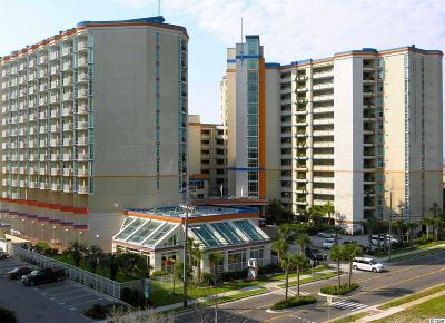 Myrtle Beach Condo/Townhouse For Sale: 5200 Ocean Blvd.