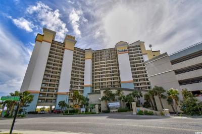 North Myrtle Beach Condo/Townhouse For Sale: 4800 S Ocean Blvd. #518