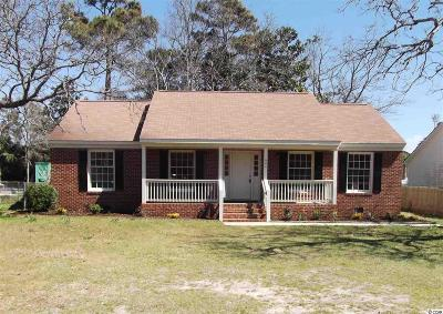North Myrtle Beach Single Family Home For Sale: 604 13th Ave. S