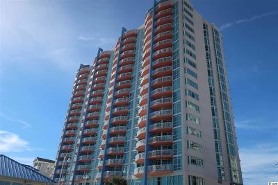 North Myrtle Beach Condo/Townhouse For Sale: 3500 N Ocean Blvd. #1604