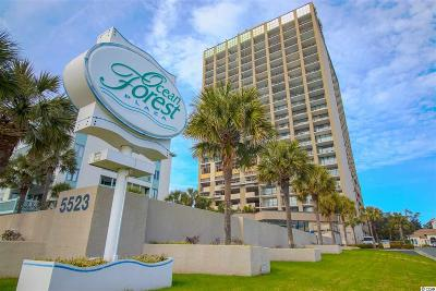 Myrtle Beach Condo/Townhouse For Sale: 5523 Ocean Blvd. N #2203