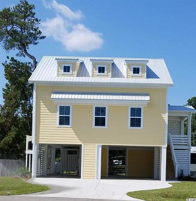 Pawleys Island Single Family Home For Sale: 15 Tidelands Trail