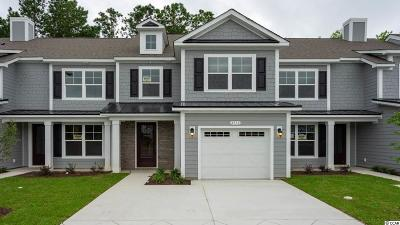 North Myrtle Beach Condo/Townhouse For Sale: 4716 Blackwater Circle #Lot 21