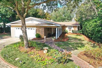 Pawleys Island Single Family Home Active Under Contract: 121 Lakeshore Dr.
