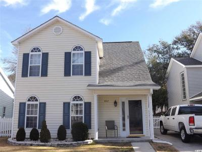 North Myrtle Beach Single Family Home For Sale: 602 Wedgewood Ct.