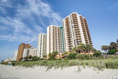 Myrtle Beach Condo/Townhouse For Sale: 2710 N Ocean Blvd. #1504