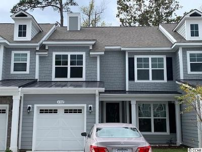 North Myrtle Beach Condo/Townhouse For Sale: 4702 Blackwater Circle #Lot 25
