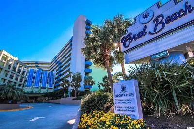 Myrtle Beach Condo/Townhouse For Sale: 1105 S Ocean Blvd. #706