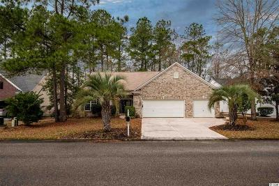 Murrells Inlet Single Family Home For Sale: 6431 Somersby Dr.