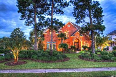 Myrtle Beach SC Single Family Home For Sale: $874,900