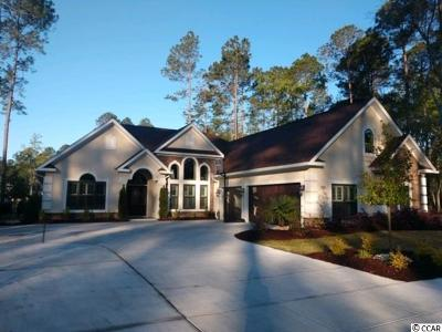 Myrtle Beach SC Single Family Home For Sale: $498,500