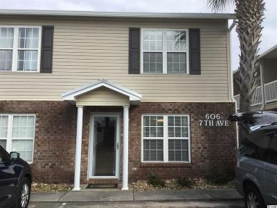 North Myrtle Beach Condo/Townhouse For Sale: 606 7th Ave. S #F