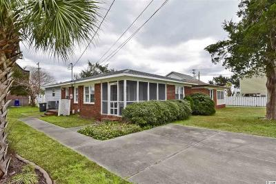 North Myrtle Beach Single Family Home For Sale: 306 23rd Ave. N