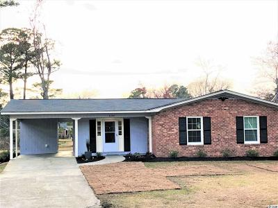 North Myrtle Beach Single Family Home Active Under Contract: 1205 Belle Dr.