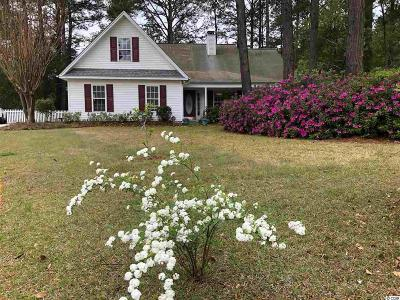 Pawleys Island Single Family Home For Sale: 30 Staunton Pl.