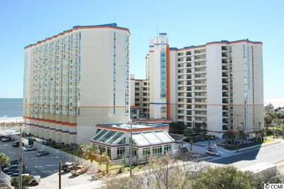 Myrtle Beach Condo/Townhouse For Sale: 5200 N Ocean Blvd. #834