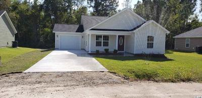 Loris SC Single Family Home Active Under Contract: $149,899