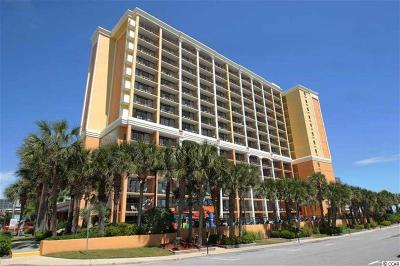 Myrtle Beach Condo/Townhouse For Sale: 6900 N Ocean Blvd. #1101