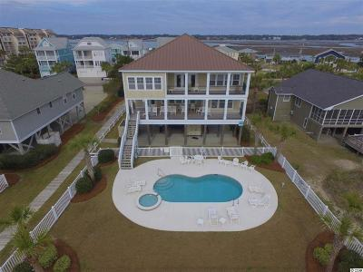 Murrells Inlet, Garden City Beach Single Family Home For Sale: 1447 S Waccamaw Dr.