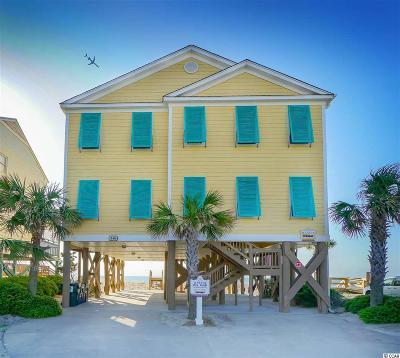 Garden City Beach Single Family Home For Sale: 348 S Waccamaw Dr.