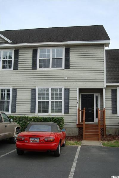 Murrells Inlet SC Condo/Townhouse For Sale: $127,950