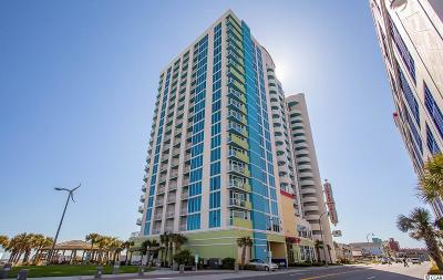 North Myrtle Beach Condo/Townhouse For Sale: 2100 N Ocean Blvd. #1039